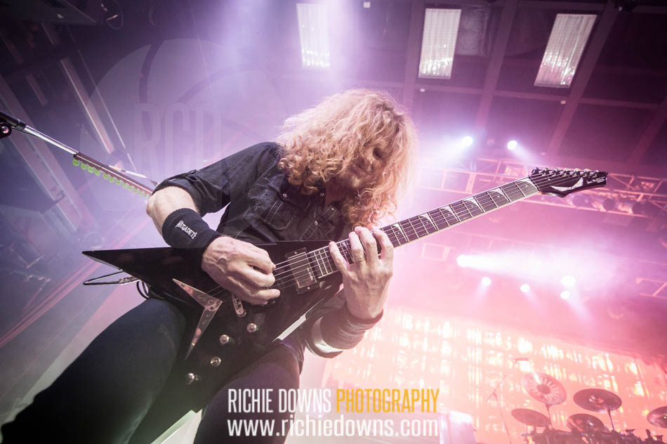 Megadeth performs at The Fillmore in Silver Spring, MD on May 5, 2016 (Photos by Richie Downs).