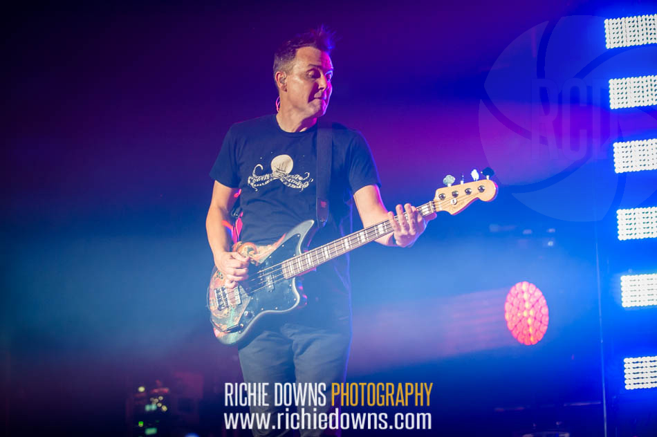 Blink 182 performs during DC101's Kerfuffle Festival at Merriweather Post Pavilion on June 26, 2016) Photos by Richie Downs).