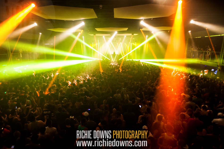 The crowd during Diplo's performance at Echostage in Washington, DC on June 18, 2016 (Photos by Richie Downs).