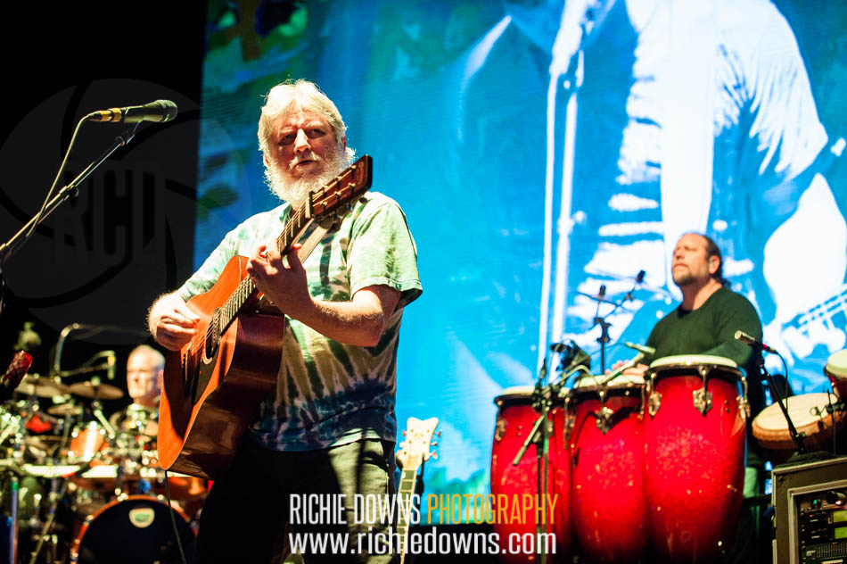 The String Cheese Incident performs during Merryland Music Festival at Merriweather Post Pavilion on July 9, 2016 (Photo by Richie Downs).